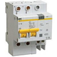 Дифференциальный автомат АД-12 50А, 100мА, 2п IEK (1)