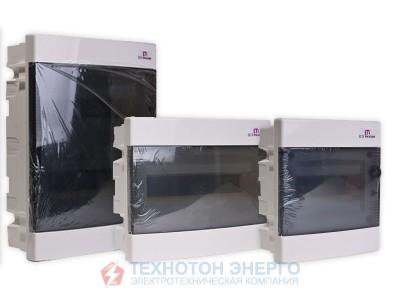 Щит внутрішній розподільчий ЕСМ 36 РТ (36 мод. прозорі двері)  (1101013)