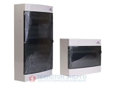Щит зовнішній розподільчий  ЕСТ 36 РТ (36мод. прозорі двері) (1101004)