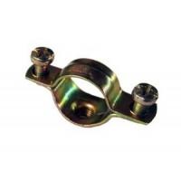 Cкоба металлическая двухкомпонентная  d. 10-11мм IEK (100)