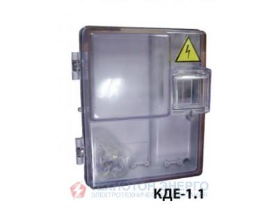 Коробка під лічильник КДЕ-1.1 прозрачная (КД3-У)