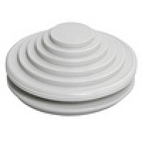 Ввод-сальник IEK d=20/22мм серый (100)