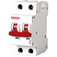 Автоматический выключатель e.industrial.mcb.100.1N.C10, 1р+N, 10А, C, 10кА