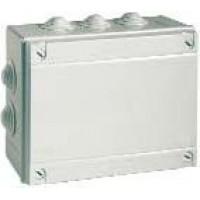 Коробка ответвительная 400С2 с кабельными вводами д.80х40мм IP44 ДКС 53600