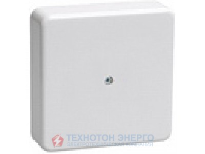 Коробка распаечная для откр. проводки 75х75х20 белая с контактной групой КМ41212-01 (1) IEK