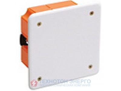 Коробка IEK установочная для твердых стен с саморезами d63х40мм КМ40001