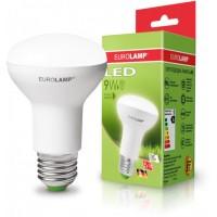 Світлодіодна лампа EKO R63 9W E27 4000K EUROLAMP LED-R63-09274(D)