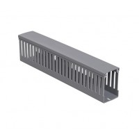 Короб перфорованій , сірий RL6 25x40 , крок 10мм , перфора . 4мм, довж . 2м , сірий ДКС 01163RL