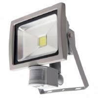 Прожектор FMI 10S LED 20Вт 6500К 1600Лм IP65 з датчиком DELUX