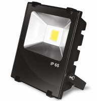 Прожектор черный с радиатором LED COB 20W 6500К 2200Lm modern EUROELECTRIC LED-FLR-COB-20