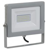 Прожектор СДО07-20 светодиодный серый IP65 IEK (1)