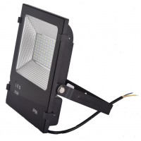Прожектор LFL 50Вт 6400K SMD IP65 чорний 4250Lm ELMAR