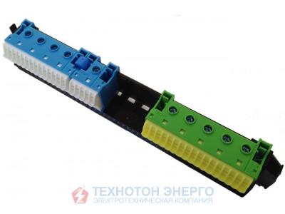 VZ461 Утримувач з клемами PE/N: 11xN+11xPE/3xN+3xPE для 1 рядних