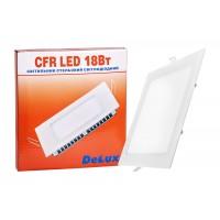 Світильник DELUX CFQ LED 40 4100К 18Вт 220В квадрат