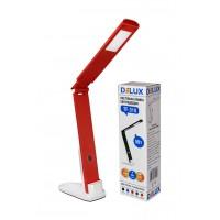 Світильник настільний LED TF-310 5Вт біло-червоний DELUX