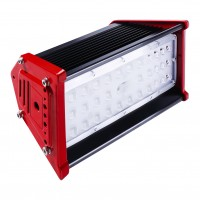 Комплект LED Светильник линейный 50W 5000K + кронштейн 2шт. B2B-LED-LHP-50W